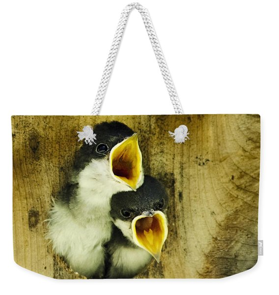 Screaming Hungry Weekender Tote Bag