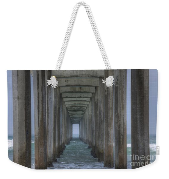 Scripps Pier La Jolla California 3 Weekender Tote Bag