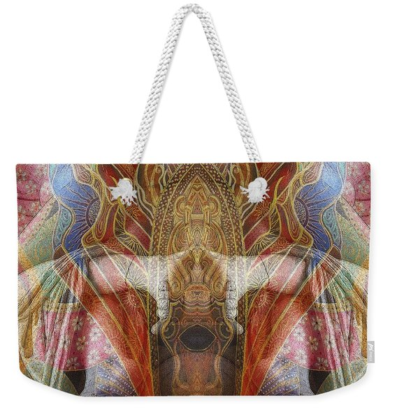 Sculpture 2 Weekender Tote Bag