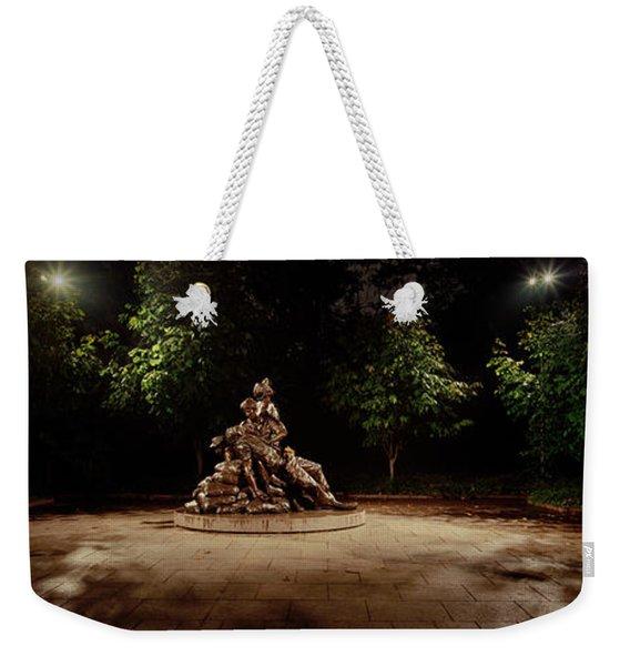 Sculpture In A Memorial, Vietnam Womens Weekender Tote Bag