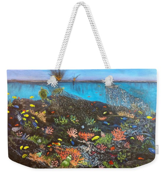 Sea Assault Weekender Tote Bag