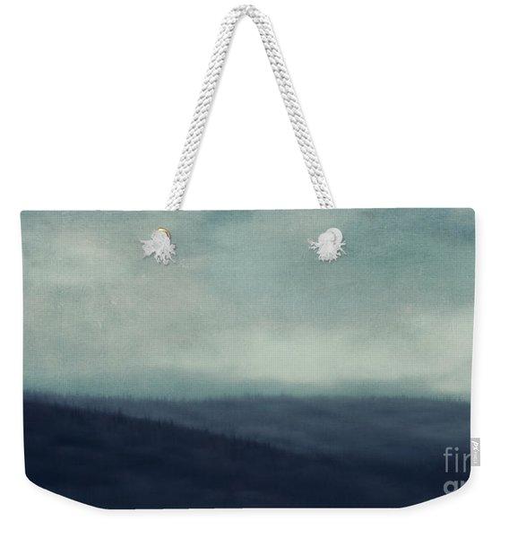 Sea Of Trees And Hills Weekender Tote Bag