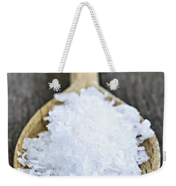 Sea Salt Weekender Tote Bag