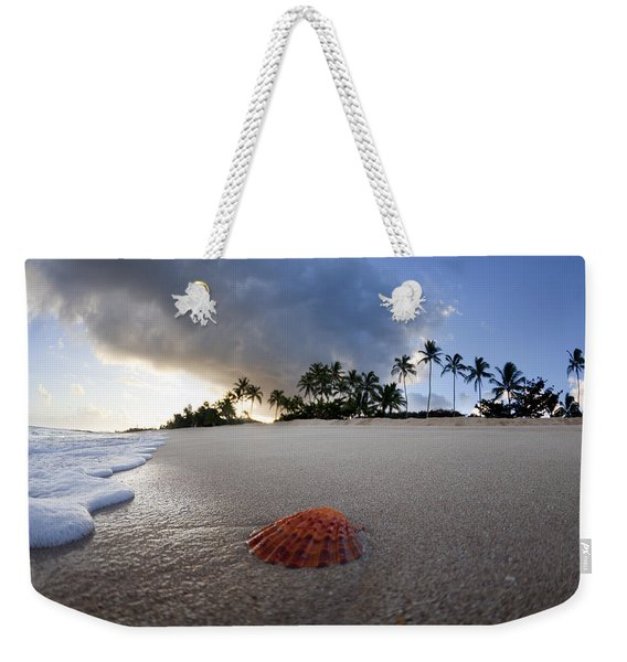 Sea Shell Sunrise Weekender Tote Bag