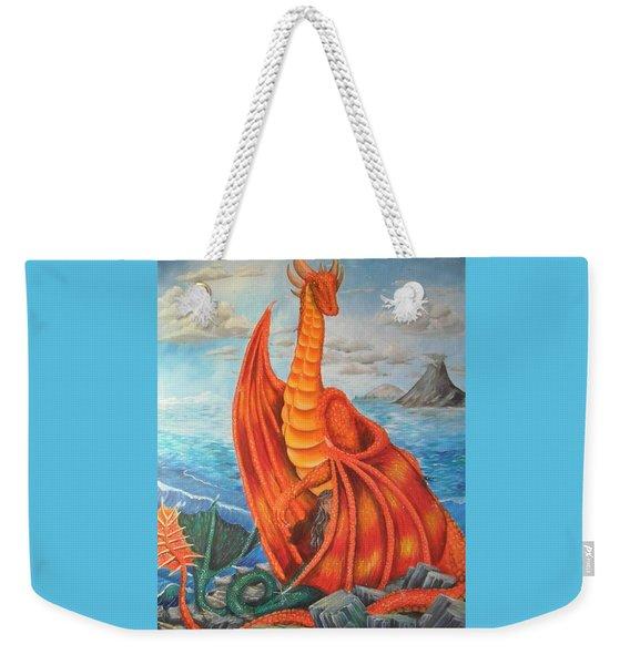 Sea Shore Pair Weekender Tote Bag