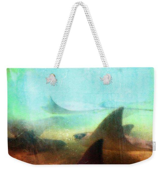Sea Spirits - Manta Ray Art By Sharon Cummings Weekender Tote Bag