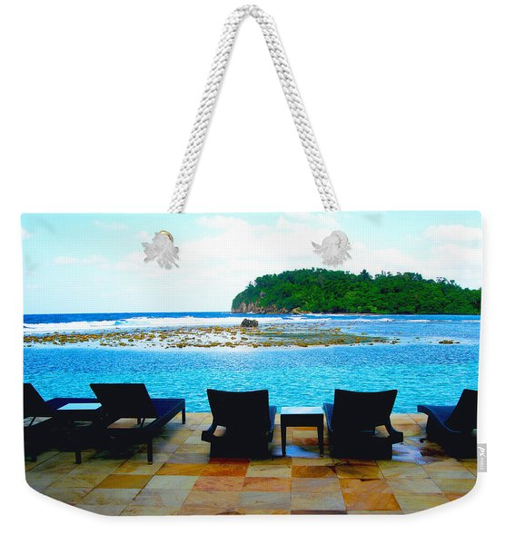 Sea Star Villa Weekender Tote Bag