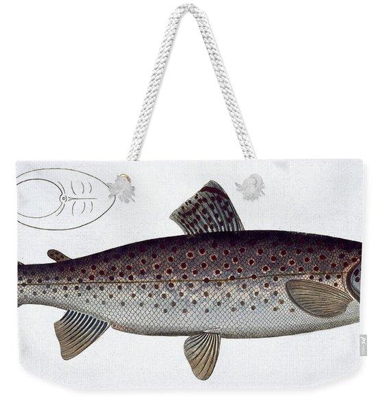Sea Trout Weekender Tote Bag
