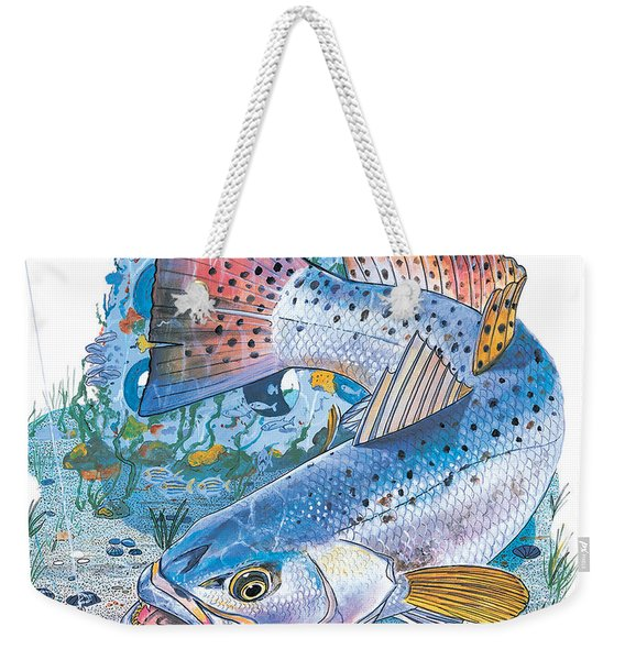 Sea Trout Wreck Weekender Tote Bag