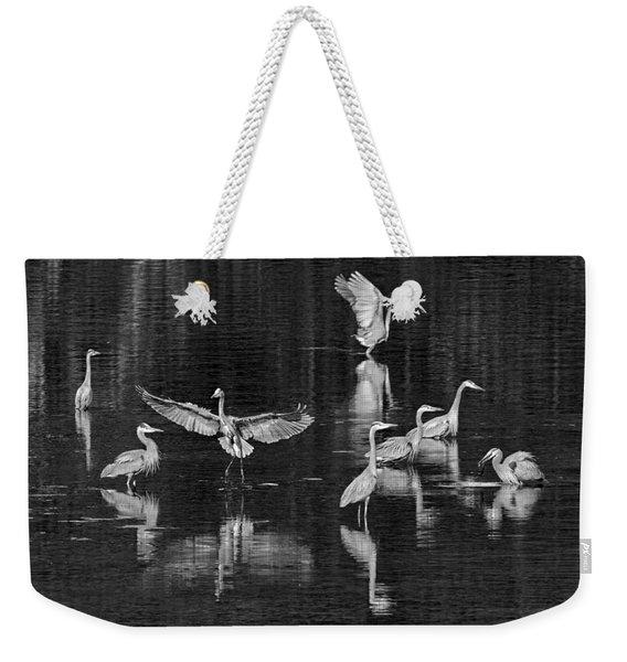 Seabeck Herons Weekender Tote Bag