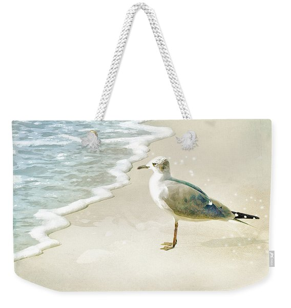 Seagull 2 Marco Island Weekender Tote Bag