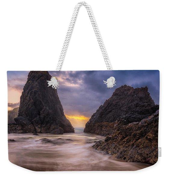 Seal Rock 2 Weekender Tote Bag