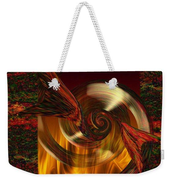 Sealed Passion  Weekender Tote Bag