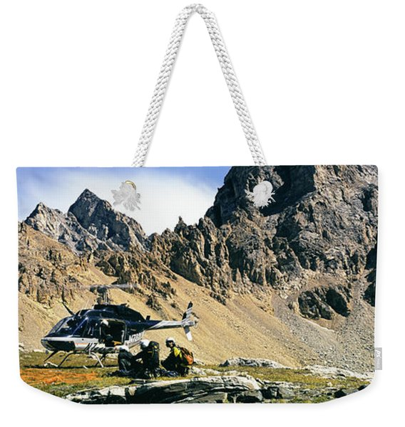 Search And Rescue Practice Near Weekender Tote Bag