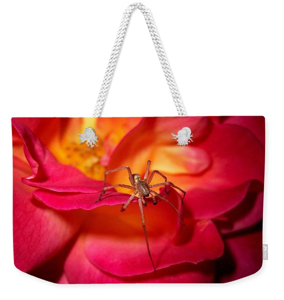 Searching For Miss Muffet Weekender Tote Bag
