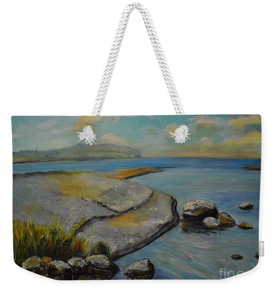 Seascape From Hamina 1 Weekender Tote Bag