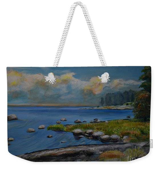 Seascape From Hamina 2 Weekender Tote Bag