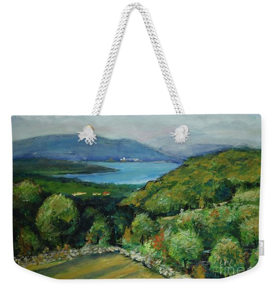 Seascape From Kavran Weekender Tote Bag