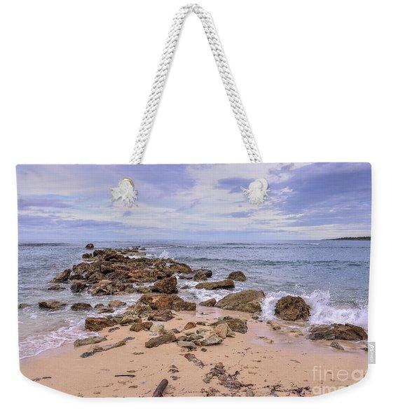 Seascape With Rocks Weekender Tote Bag
