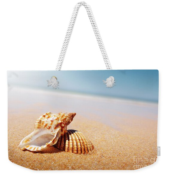Seashell And Conch Weekender Tote Bag