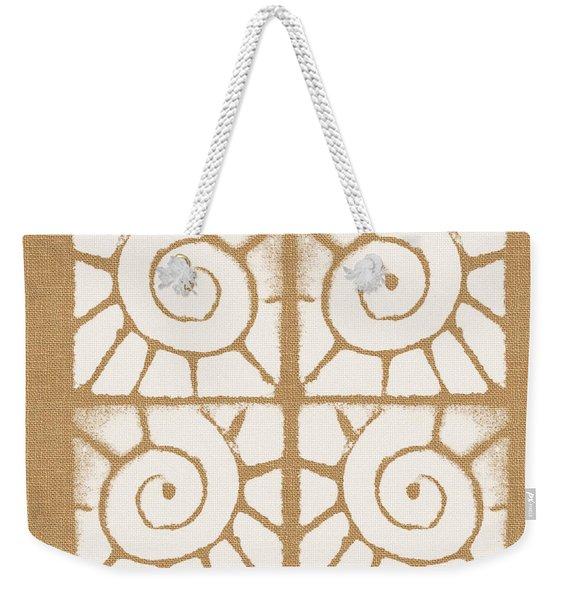 Seashell Tiles Weekender Tote Bag