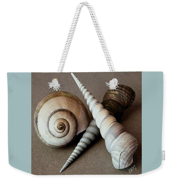 Seashells Spectacular No 24 Weekender Tote Bag