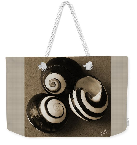 Seashells Spectacular No 27 Weekender Tote Bag