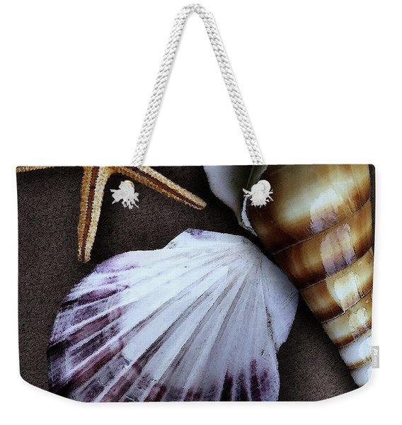 Seashells Spectacular No 37 Weekender Tote Bag