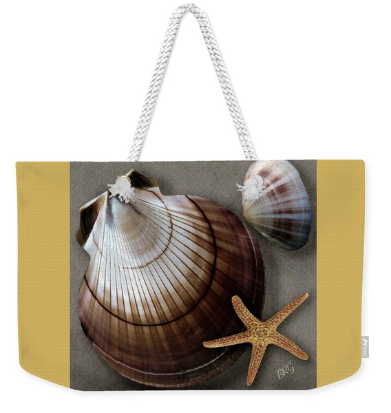 Seashells Spectacular No 38 Weekender Tote Bag