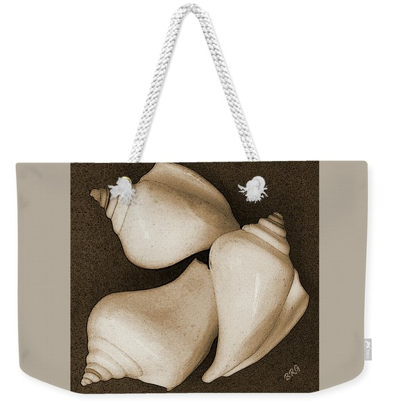 Seashells Spectacular No 4 Weekender Tote Bag