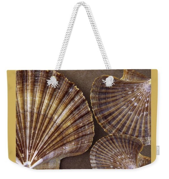 Seashells Spectacular No 7 Weekender Tote Bag