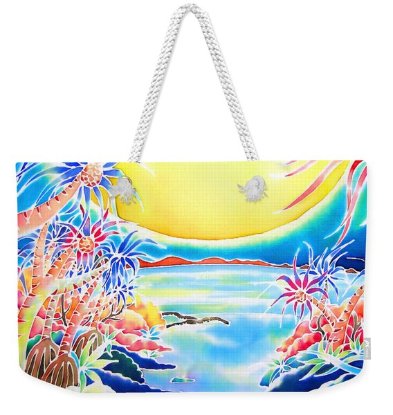 Seashore In The Moonlight Weekender Tote Bag