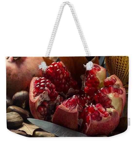 Seasonal Still-life Weekender Tote Bag