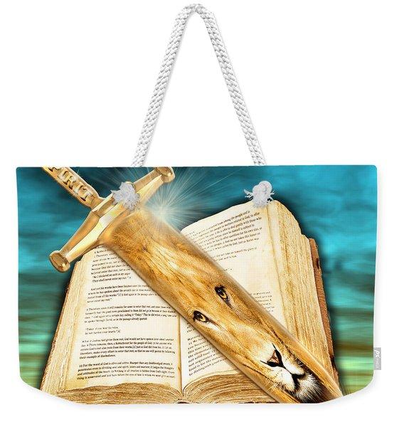 Seasons Of The Sword Weekender Tote Bag