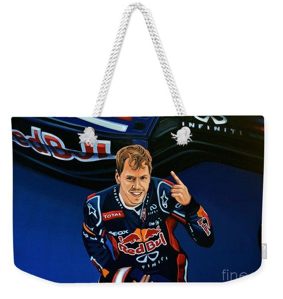 Sebastian Vettel Weekender Tote Bag