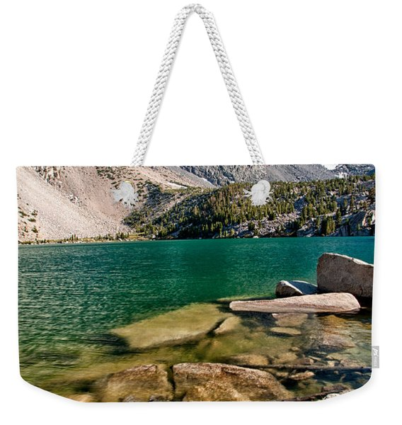 Second Lake And Temple Crag Weekender Tote Bag