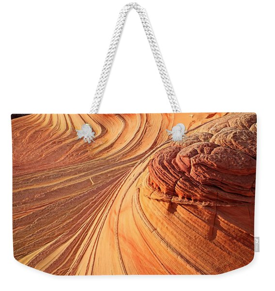 Second Wave Flow Weekender Tote Bag