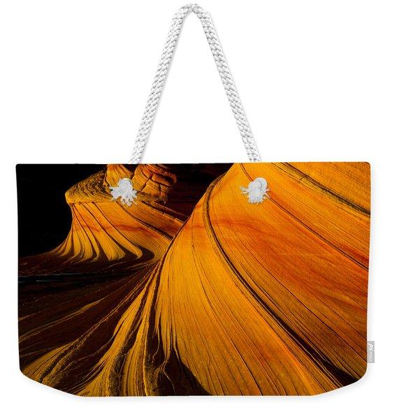 Second Wave Weekender Tote Bag