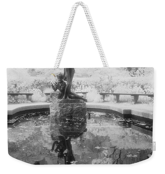 Secret Garden Ir Weekender Tote Bag