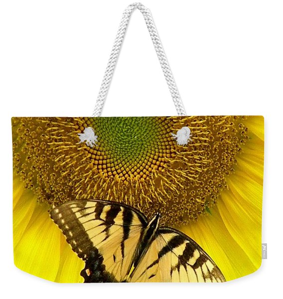 Secret Lives Of Sunflowers Weekender Tote Bag