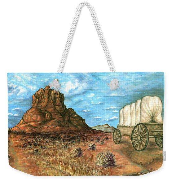 Sedona Arizona - Western Art Painting Weekender Tote Bag