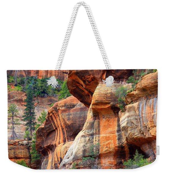 Sedona Stripes Weekender Tote Bag