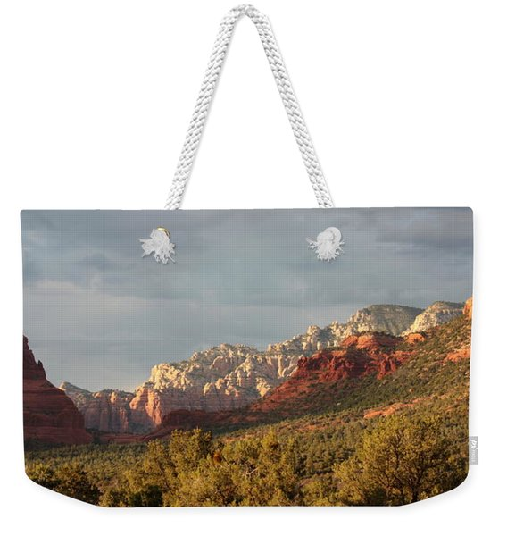 Sedona Sunshine Panorama Weekender Tote Bag