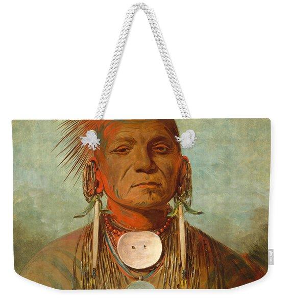 See Non Ty A An Iowa Medicine Man Weekender Tote Bag