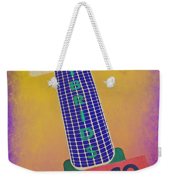 Seed Company Sign Abstract Weekender Tote Bag