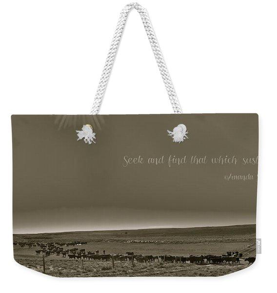 Seek And Find Weekender Tote Bag