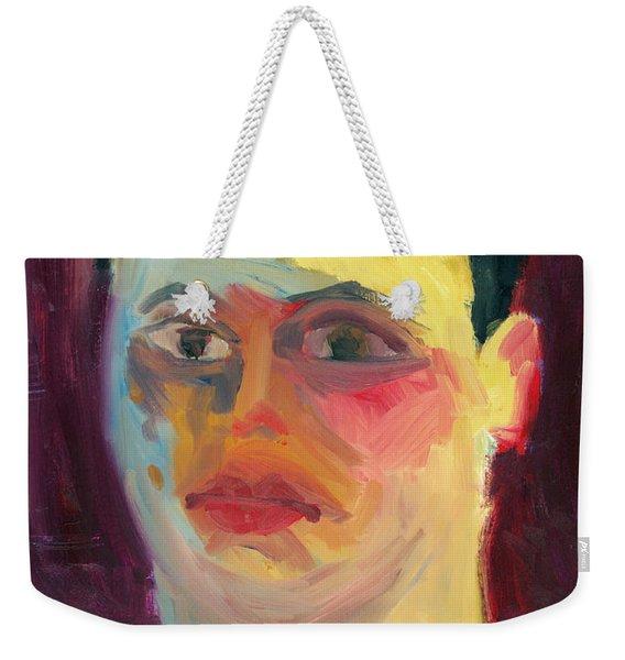 Self Portrait Oil Panting Weekender Tote Bag