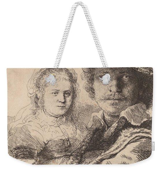 Self Portrait With Saskia Weekender Tote Bag