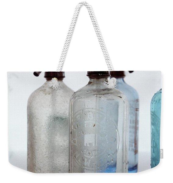 Seltzer Bottles Weekender Tote Bag