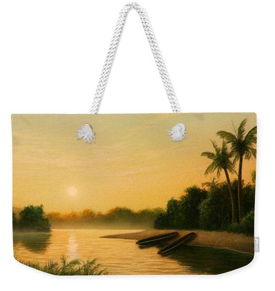 Seminole Sunset Weekender Tote Bag